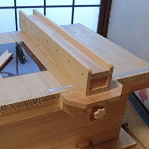 丸のこテーブル用のフェンス