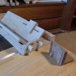丸のこテーブル用 箱継ぎ冶具