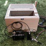 コンプレッサー用自作静音ボックス